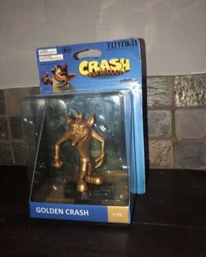 New Totaku Collection No 29 - Golden Crash Bandicoot Figure Activision 6+ Toy for Sale in Miami, FL