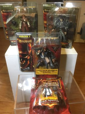 Pirates of the Caribbean action figure set NECA REEL TOYS for Sale in Stockton, CA