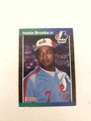Baseball card Hubie Brooks for Sale in Nashville, TN
