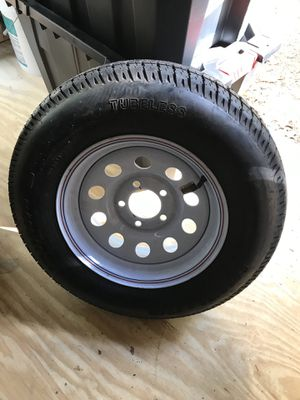 """Brand new 14"""" trailer wheel and tire for Sale in Washington Township, NJ"""
