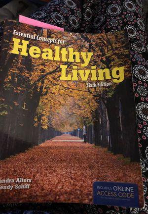 Essential concepts for healthy living 6th edition for Sale in Gresham, OR