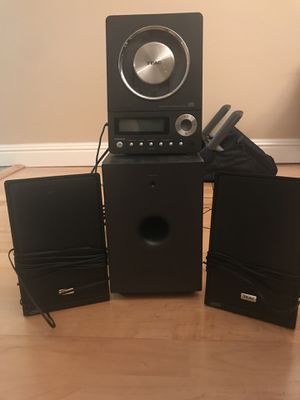 Stereo sound system radio CD player speakers for Sale in Moraga, CA