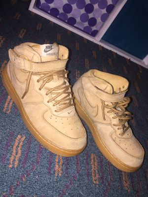 Nike Air Force 1s Wheats ( Size 2.5Y ) for Sale in Atlanta, GA
