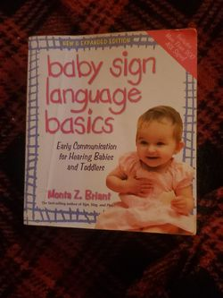 baby sign language for Sale in Colton,  CA