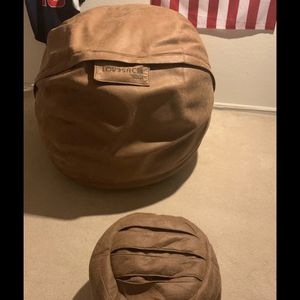Love sac over sized bean bag chair for Sale in Denver, CO