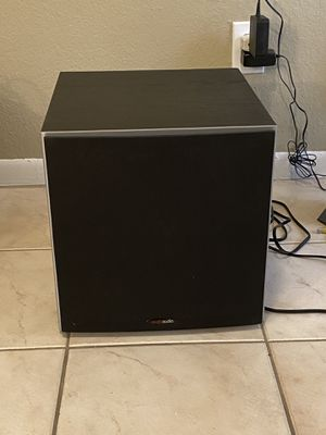 """Polk Audio PSW10, 10"""" powered subwoofer LIKE NEW for Sale in Houston, TX"""