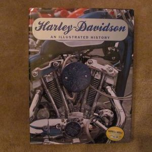 """Harley Davidson: An Illustrated History"" -- GREAT HISTORIC BOOK! for Sale in Bolingbrook, IL"