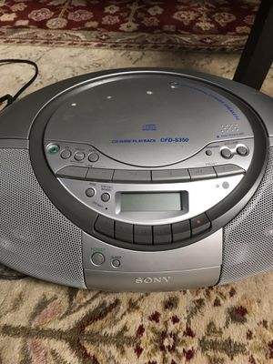 CD-R/ Tape player for Sale in Fort Belvoir, VA