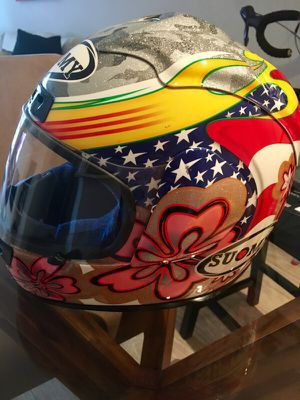 Suomy motorcycle helmet - ladies xs for Sale in Chicago, IL