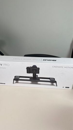 Rob Pro cinematic motion slider for Sale in Rancho Cucamonga, CA