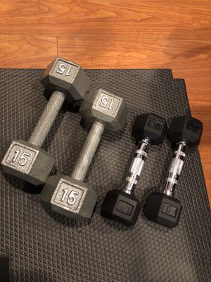 Hex dumbbells for Sale in Pacheco, CA