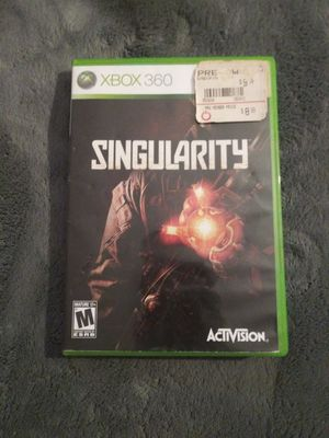 Singularity xbox 360 for Sale in Stanton, CA