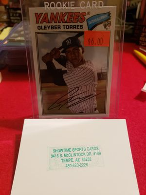 2019 Topps Archives Baseball Gleyber Torres for Sale in Mesa, AZ