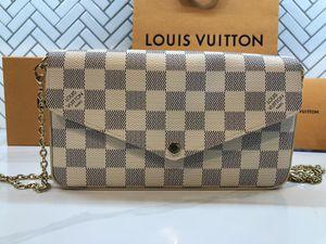 Authentic Louis Vuitton Pochette Felicie Damier Azur for Sale in Phoenix, AZ