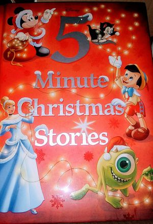 $6.00 DISNEY 5 MINUTE CHRISTMAS STORIES for Sale in Glendale, AZ