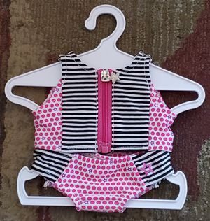 American Girl Stripes & Dots Swimsuit for 18-inch Dolls New for Sale in Phoenix, AZ