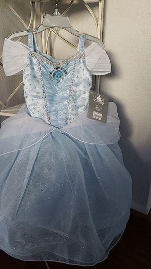 Cinderella Disney princess dress/ costume from Disney store for Sale in Fontana, CA