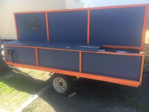 Utility trailer / toy hauler w/ removable rear for Sale in Denver, CO