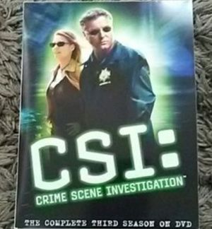 CSI season 3 dvds for Sale in South Gate, CA