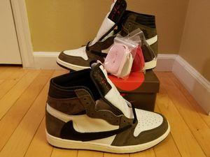 Jordan Retro 1 Travis Scott Sz 10.5 for Sale in Neenah, WI