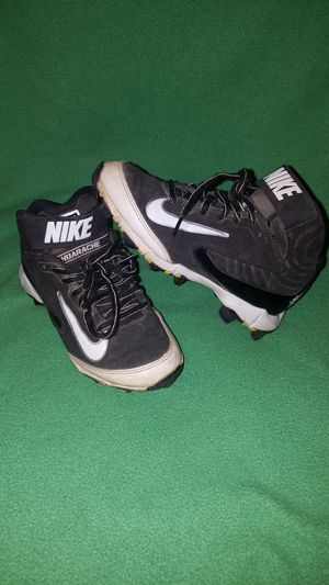 Nike kids cleats size 1 for Sale in Lombard, IL