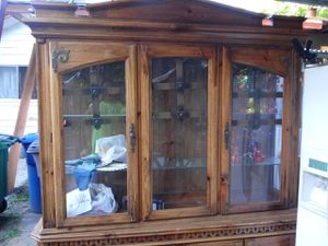 China cabinet antique for Sale in San Antonio, TX