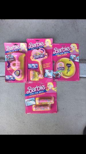VINTAGE 1986 MATTEL BARBIE BIKE ACCESSORIES for Sale in Fullerton, CA