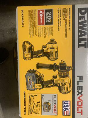 Dewalt Flexvolt drill combo for Sale in El Monte, CA