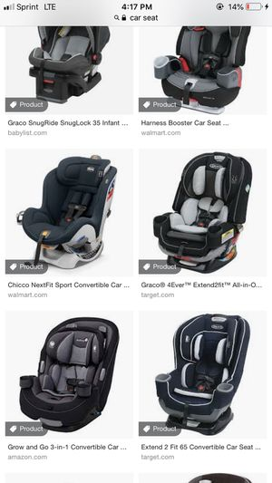 Looking for car seat! for Sale in Laredo, TX