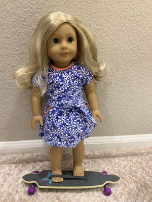 American Girl Doll Skateboard and Dress for Sale in Granite Bay, CA