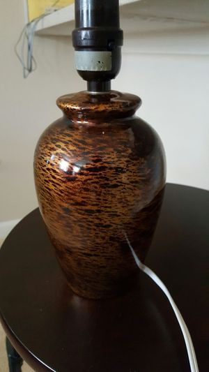 Cheetah print lamp base ( no shade) for Sale in Baltimore, MD