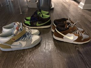 Nike Dunks ( Mids ) 80 for all 3 pairs for Sale in Clearwater, FL