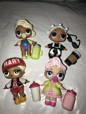 Lol Dolls Series 1 lot of 4 for Sale in Portland, OR