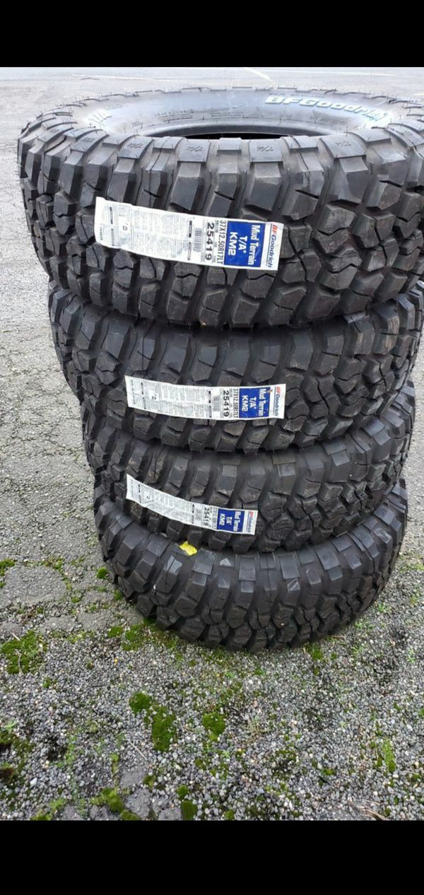 I have 5 jeep tires