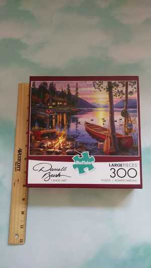 Buffalo games puzzle for Sale in Groton, CT