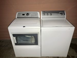 Kenmore Washer and Maytag Dryer Electric for Sale in Houston, TX