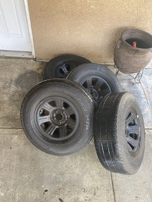 235/75/R15 tires (used) for Sale in Lincoln Acres, CA