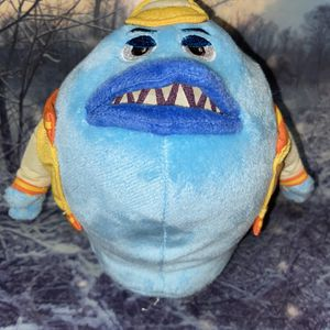 "Disney Pixar Monsters Inc. University jox Babosa Blue jelly 8"" Plush for Sale in Bellflower, CA"