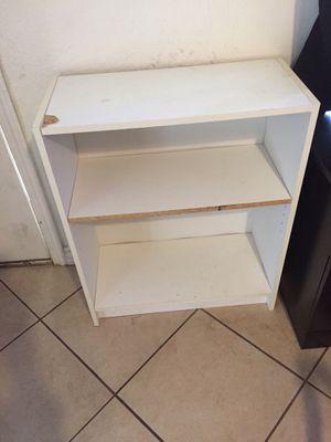 White book shelf for Sale in Bakersfield, CA