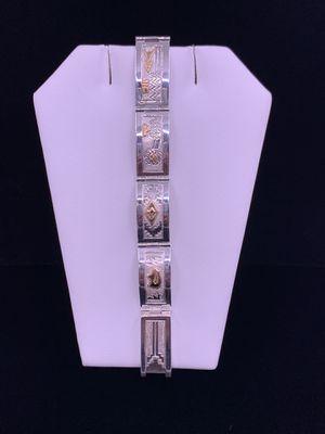 Sterling Silver with 12kt G.F. Bracelet 29.1g for Sale in Phoenix, AZ