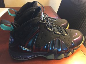 Charles barkley posite max eggplant basketball shoes for Sale in Norfolk, VA
