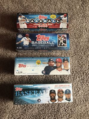Topps Major League Baseball completes sets years 2008 -2011 for Sale in Columbus, OH