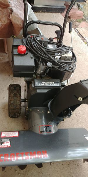 Almost new snow and ice machine craftsman for Sale in Payson, AZ