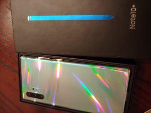 Brand new sim unlocked samsung galaxy note 10 plus 256gb for Sale in San Jose, CA