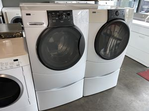 KENMORE ELITE XL CAPACITY WASHER DRYER 100 DAYS WARRANTY for Sale in Vancouver, WA