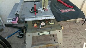 Craftsman table saw for Sale in Placentia, CA