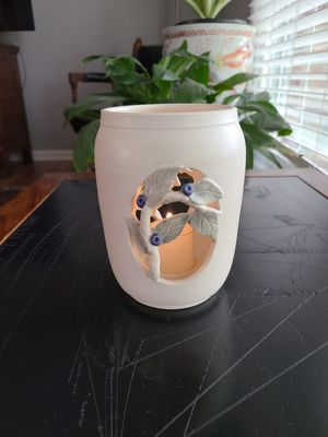 Ceramic Candle Holder With Open Vine Decoration for Sale in Georgetown, KY