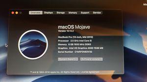"""Macbook Pro 13"""" for Sale in Pomona, CA"""