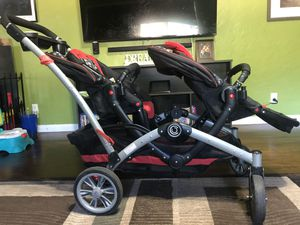 Contours double stroller and infant car seat adapter basket for Sale in Newberg, OR