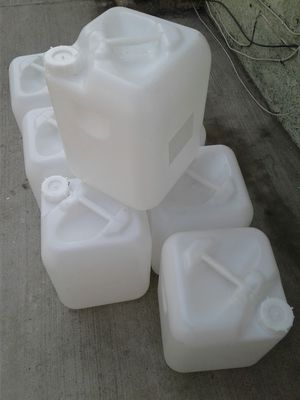 I have 37 containers for gas oil or diesel $5 each they hold 5 gallons each for Sale in Los Angeles, CA